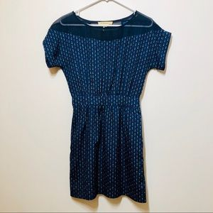 BCBGeneration Dresses - BCBG Generation Midnight Blue Multi Dress XS